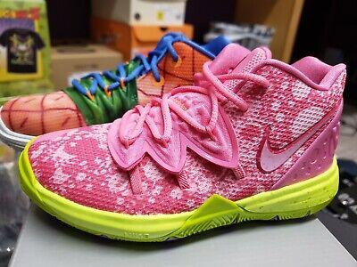MISMATCH Nike Kyrie 5 PS Patrick Star Spongebob Pineapple Sz 12C Boys  CN4501-600 | eBay