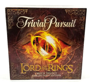 Trivial-Pursuit-Lord-of-the-Rings-LOTR-Trilogy-Edition-Complete-Board-Game