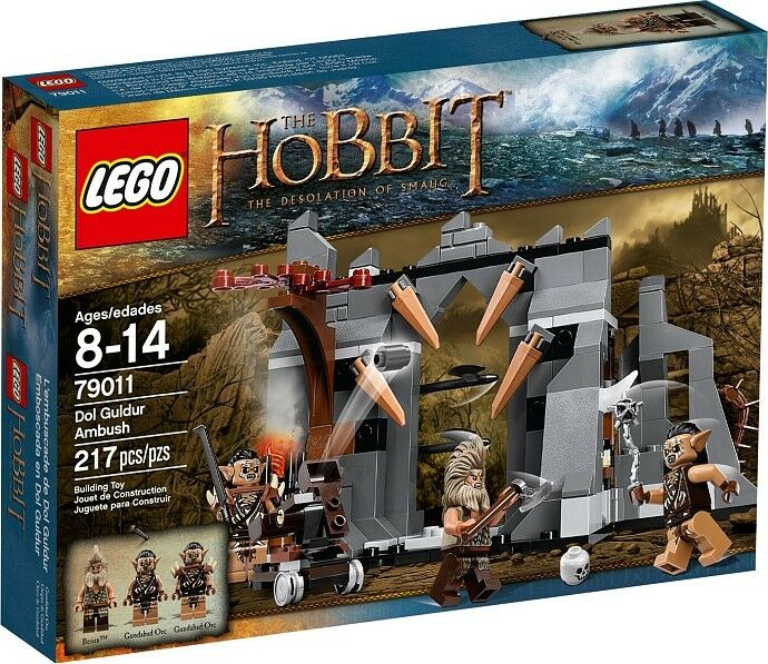 LEGO the Hobbit  - 79011 embuscade De Dol Guldur M. Beorn u. GUNDABAD-NEUF emballage d'origine  de gros