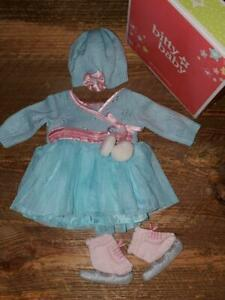 American Girl Bitty Bitty Baby Frosty Ice Skating Outfit for Dolls COMPLETE Set