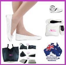 ed64ee488 item 5 WHITE foldable flats wedding shoes FOLDING FLAT SIZES 6 13 INCLUDES  BAG jiffies -WHITE foldable flats wedding shoes FOLDING FLAT SIZES 6 13  INCLUDES ...
