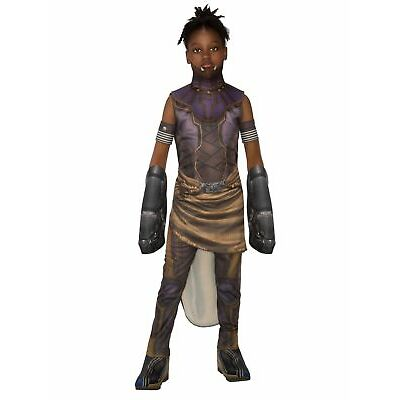 Deluxe Marvel Comics The Avengers Shuri Black Panther Costume Girls Child SM-LG