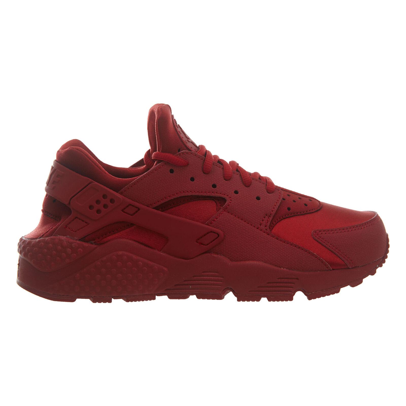 Nike Air Huarache Run Womens 634835-601 Gym Red Athletic Running Shoes
