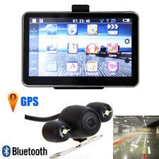 """5"""" Inch 4GB TF LCD Car GPS AV-IN Bluetooth Navigation Navigator W/Backup Camera"""