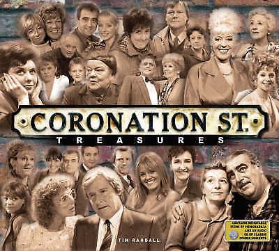 """AS NEW"" ""Coronation Street"" Treasures, Randall, Tim, Book"