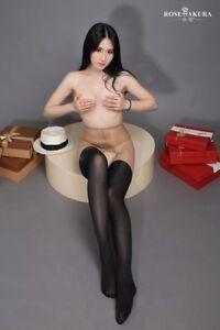 Sexy-Joint-Colour-15D-40D-Crotchless-Pantyhose-Tights-Women-Lingerie-Leg-Wear