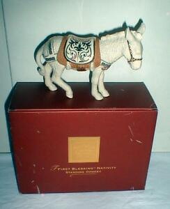 LENOX-FIRST-BLESSING-NATIVITY-STANDING-DONKEY-MINT-IN-BOX