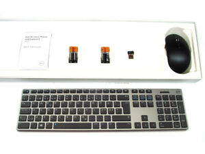 DELL-KM717-Premier-Wireless-Keyboard-amp-WM527-Mouse-Set-Kit-PANN-NORDIC-Layout