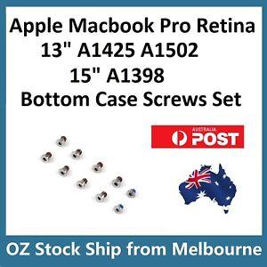 "Apple MacBook Pro 13"" 15"" Retina A1398 A1425 A1502 Bottom Case Screws Set"