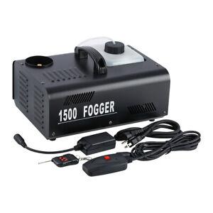 1500W Vertical Upspray Fog Smoke Machine DJ Stage Fogger w ...