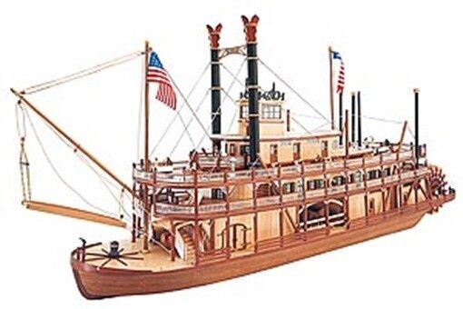 Artesania Latina 20505 Mississippi Paddle Steamer Wooden Boat Kit 1 80