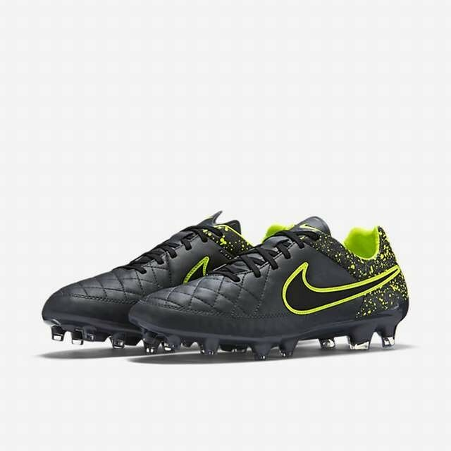 NIKE TIEMPO LEGACY MEN'S FIRM-GROUND SOCCER CLEATS 631521-007 MSRP