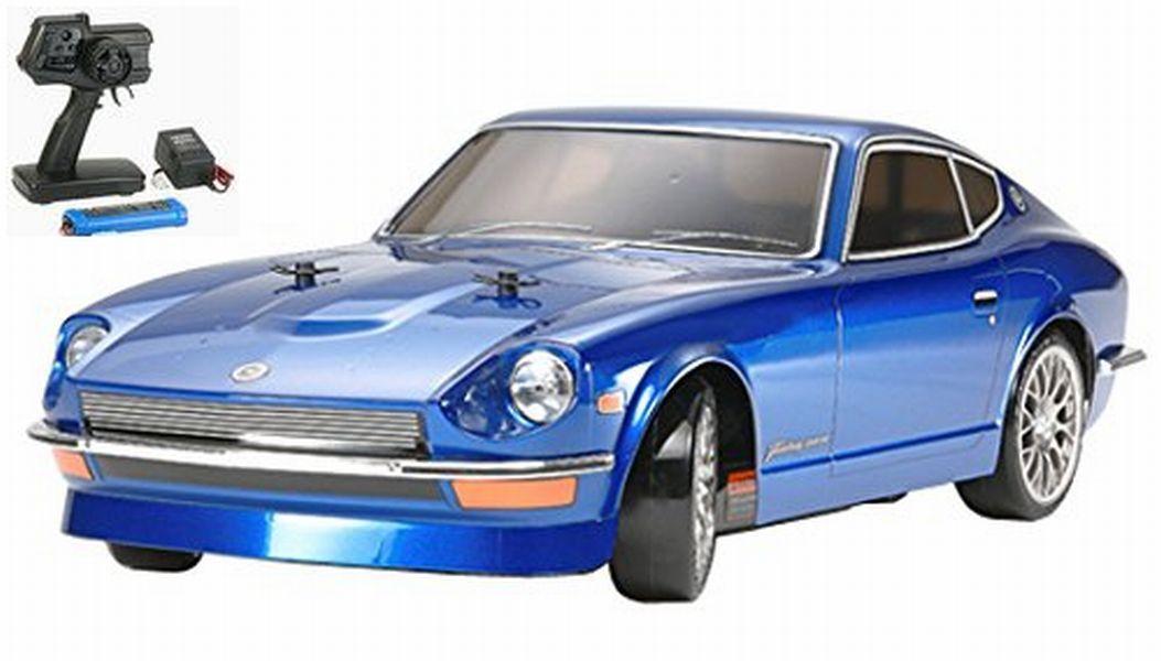 Tamiya 1 10 XB Series No.108 Fairlady 240Z TT-01D TYPE-E Drift Spec RC Drive Set