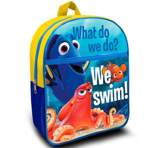 Zaino Pesciolino Nemo Disney Colore Blu Bambini Asilo Tempo Libero Elementari