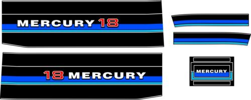 1983 MERCURY 25 HP  Reproduction Decal Kit  18 hp also available