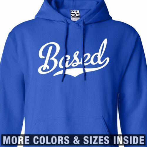 Based Script HOODIE Hooded Sweatshirt Lil B Stay Rare God Team Thank You