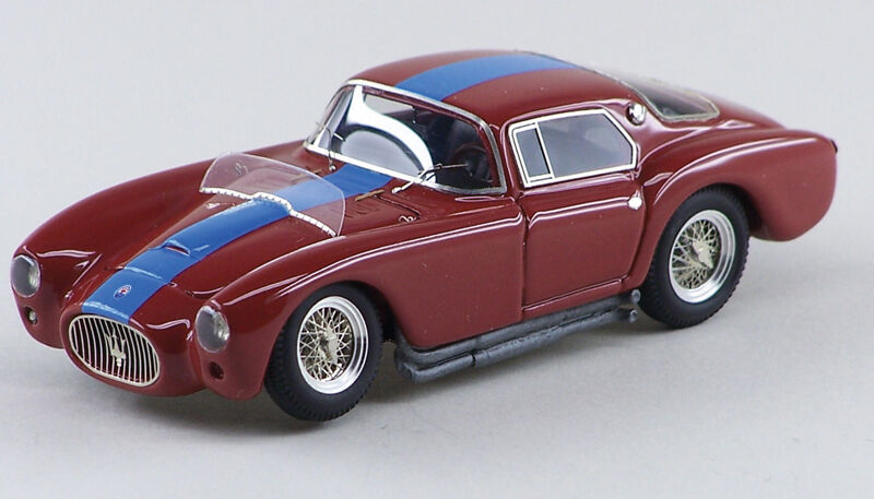 ABC 202 MASERATI A6GCS COUPE' PININFARINA PININFARINA PININFARINA 1953 CH.N.2060RED /LIGHT BLUE STRIPE | Outlet