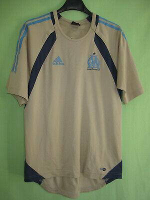 Olympic marseille jersey adidas vintage training climacool jersey om 2 | eBay