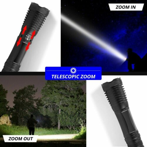 2 in 1 UV Flashlight LED Linternas Torch 395nm Ultraviolet Urine Detector Lights