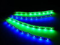 Superbright Rc Blue And Green Underbody Glow Led Strip Lights Fpv Quadcopter 6