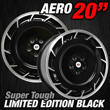 4 X 20inch Apec Wheels Aero Styled Rims Tyres Holden