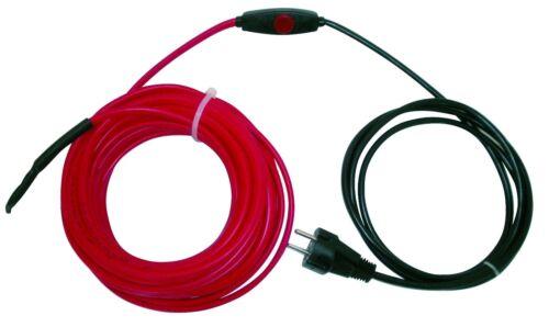 X cable de calefacción protección contra heladas heizleitung begleitheizung rohrbegleitheizung 1m hasta 61 M