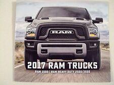 NEW 2017 Dodge Ram Trucks 1500 RAM HEAVY DUTY 2500 3500 Original Sales Brochure