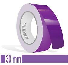 Zierstreifen lila 9mm 10m Länge Aufkleber Auto Klebeband Folie Tuning violett 9