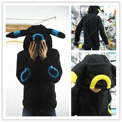 Kigurumi pokemon umbreon hoody pajamas pyjamas\sweater\hoodie romper costume