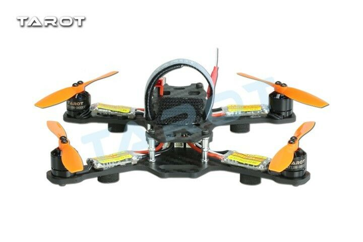 Tarosso Mini 150mm 4-Axis Carbon Fiber FPV Racing Multicopter Kit - TL150H1