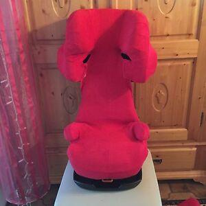 Sommerbezug Schonbezug f/ür Cybex Solution X X2 X-Fix,X2-Fix Frottee 100/% Baumwolle rot