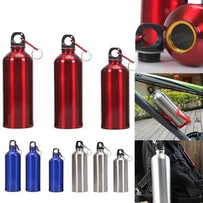 Aluminum Portable Outdoor Bicycle Sports Water Bottle Case Drinking Kettle+Lid