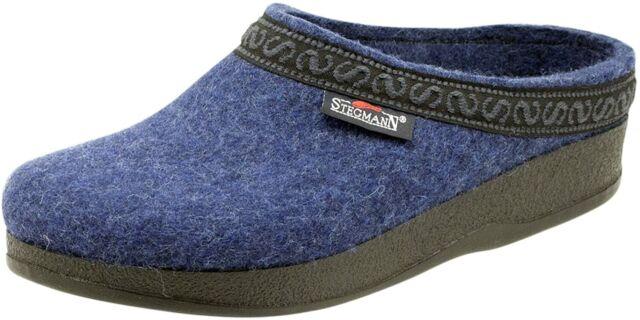 Stegmann Men/'s Wool Felt Clog with Polyflex Sole