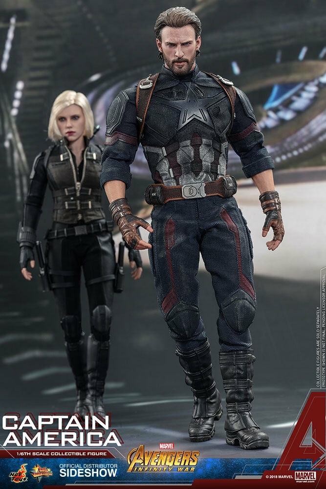 Hot Toys Avengers  Infinity War CAPTAIN AMERICA 1 6 Scale Action Figure MMS480