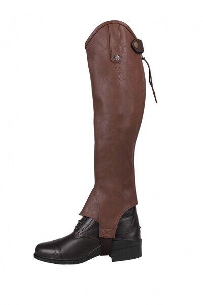 Arbo-Inox Chaps Mini Reitchaps Lederinnenseite Elasticizzato brown oppure black