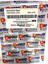 Diamond Round End Taper Burs 856l 016c Coarse 10pc1pk Bur Defend
