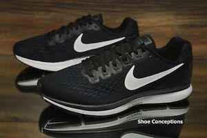 3b6eb3e0416ca Nike Air Zoom Pegasus 34 WIDE Black White 880561-001 Women s Shoes ...