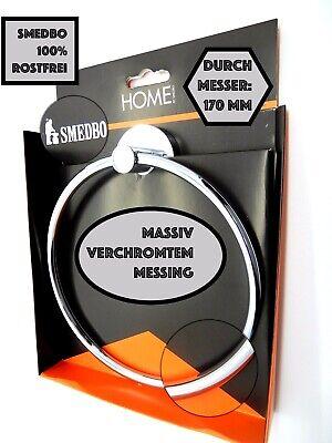 Zahnputz Halte SMEDBO HOUSE Glas//Massives Messing //Glänzend Rostfrei //RK 343