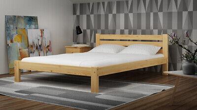 Bett Ehebett Doppelbett Bettrahmen Holzbett 160x200cm Bettgestell Vollholz