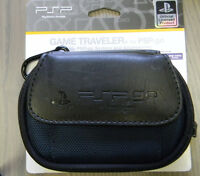 Sony PSP GO Game Traveler Carrying Case BRAND NEW! Official Sony Black / Blue