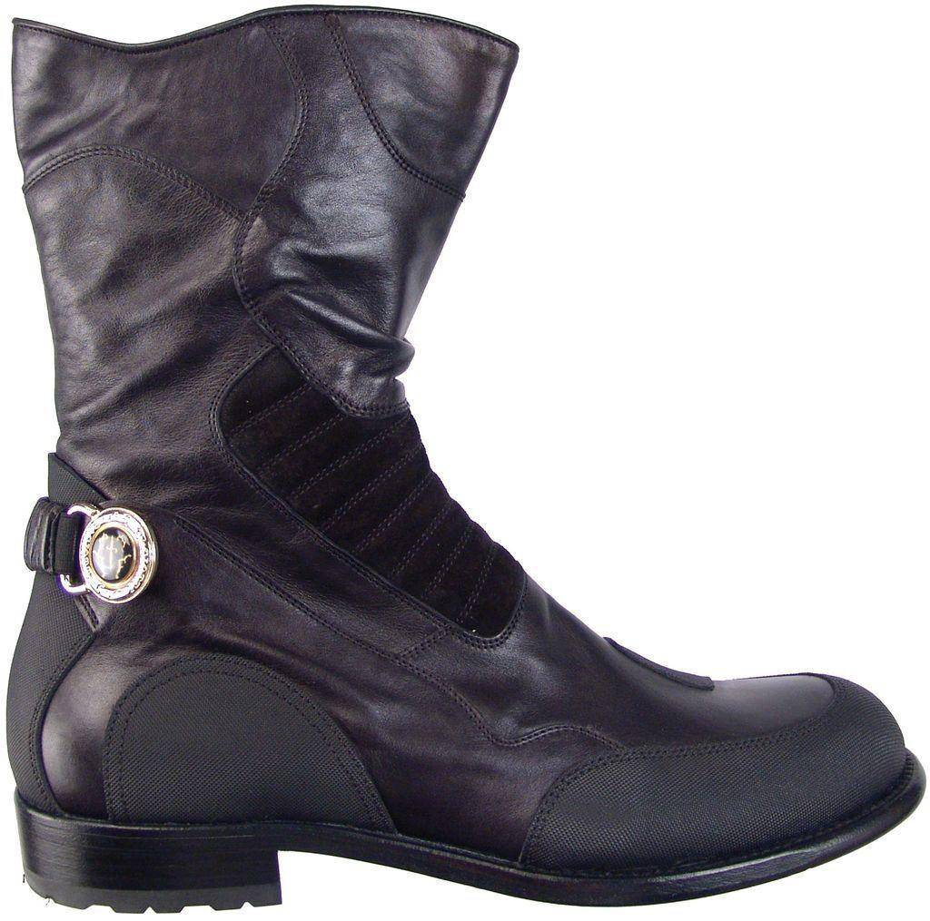 botas De Moda De Gamuza CESARE PACIOTTI de Pantorrilla Zapatos EE. UU. 7