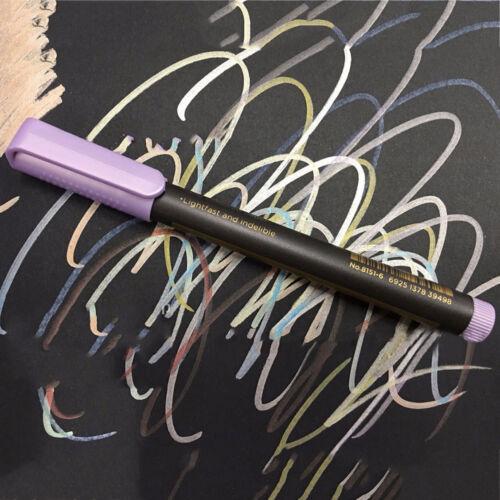 Hágalo usted mismo marcador bolígrafos de pintura metalizada Pintura De Tela De Madera De Porcelana Cerámica De Cristal 10pc