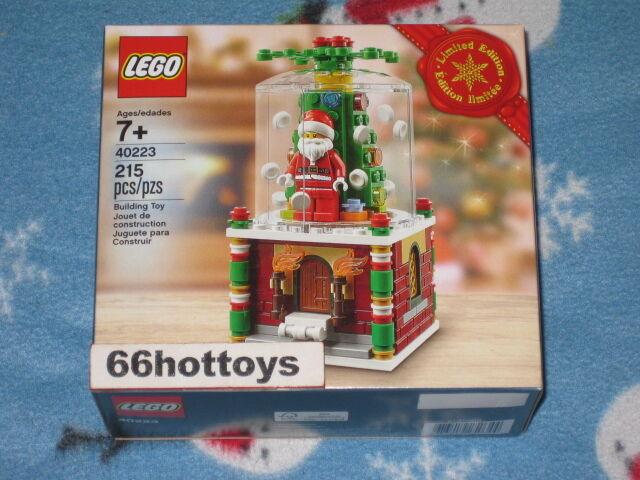 Lego 40223 snowglobe Limited Edition 2016 nuevo de vacaciones