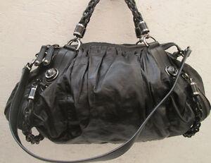 e1da49a40c36 Image is loading Gucci-handbag-leather-lamb-authetique-tbeg-vintage