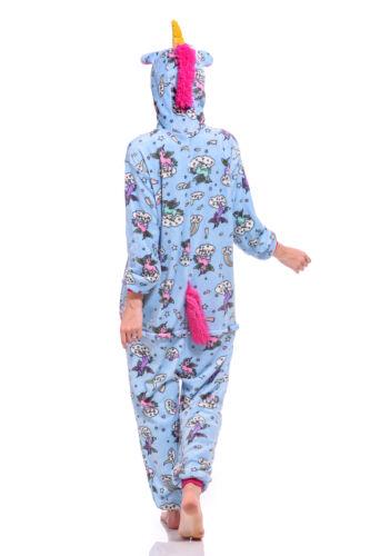 Adult//Kids Unicorn Unisex Women Kigurumi Animal Cosplay Costume Onesie19 Pajamas