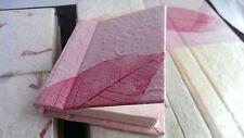 1 Mini Handbag Notebook Handmade Mulberry Paper Stunning  9cmx10cmx1.6cm/Cute