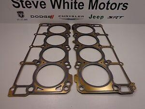 11-19 JEEP DODGE CHRYSLER 3.6L V6 ENGINE CYLINDER HEAD GASKET RIGHT /& LEFT MOPAR