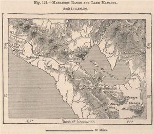 Cordillera de MaribiosMarrabios rangeLake ManaguaLeonNicaragua