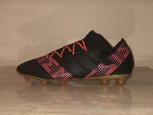 931286b11afd Adidas Nemeziz 17.2 FG Soccer Cleats CP8970 Men s US 13 Black Solar ...