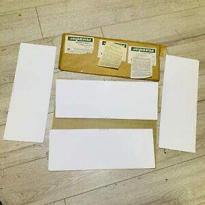 Vintage-USSR-X-RAY-INTENSIFING-SCREEN-15-x-40-cm-NOS-pack-of-4-sheets-NOS